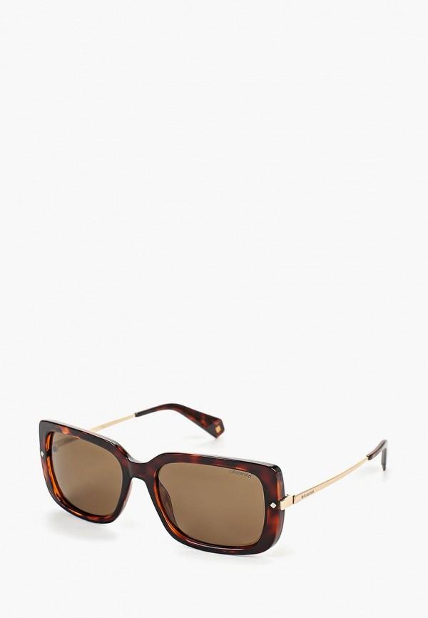 Фото - Очки солнцезащитные Polaroid Polaroid PO003DWEREW2 очки солнцезащитные polaroid polaroid po003dmcwnp6