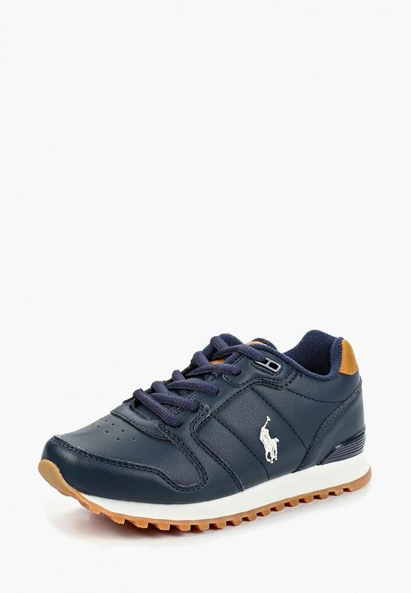 кроссовки polo ralph lauren для мальчика, синие