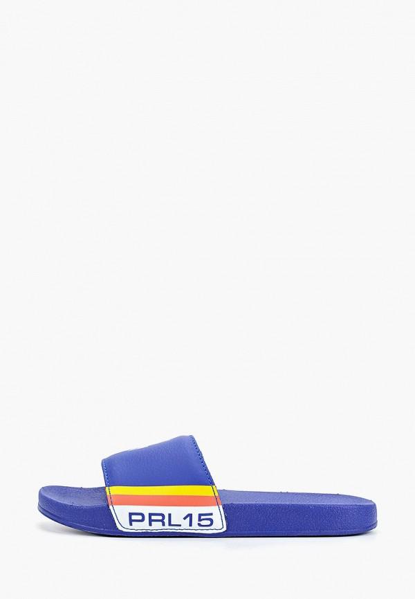 сланцы polo ralph lauren для мальчика, синие