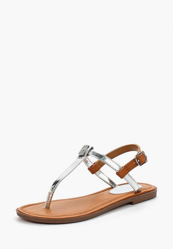 Купить Сандалии Polo Ralph Lauren, PO006AGBELZ9, серебряный, Весна-лето 2018