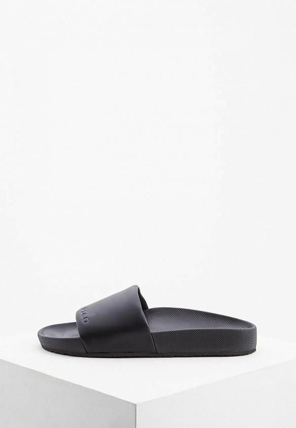 мужские сандалии polo ralph lauren, черные