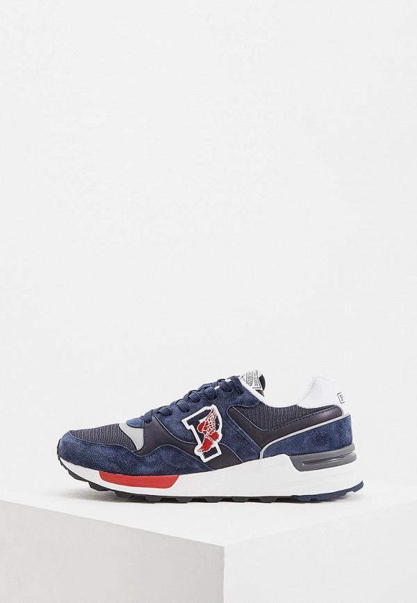 Фото - мужские кроссовки Polo Ralph Lauren синего цвета