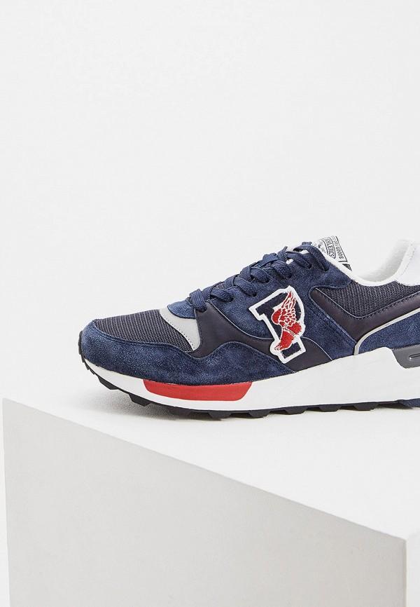 Фото 2 - мужские кроссовки Polo Ralph Lauren синего цвета