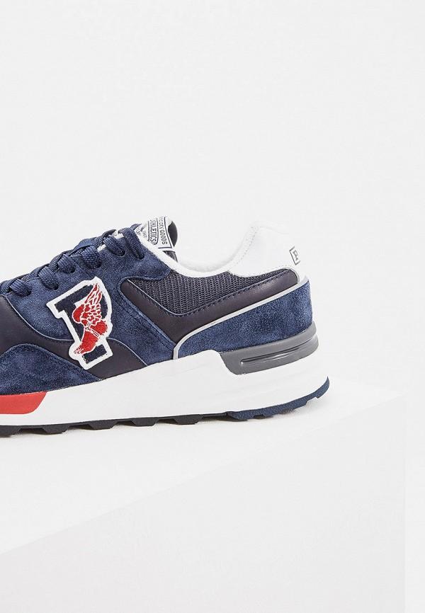 Фото 4 - мужские кроссовки Polo Ralph Lauren синего цвета