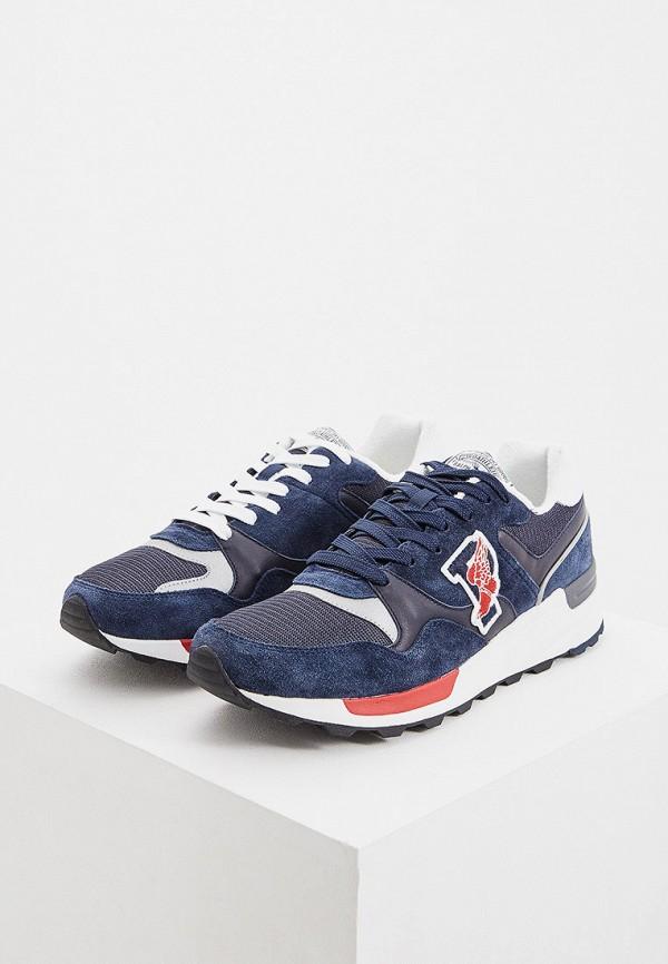 Фото 5 - мужские кроссовки Polo Ralph Lauren синего цвета