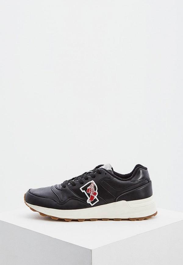 мужские кроссовки polo ralph lauren, черные