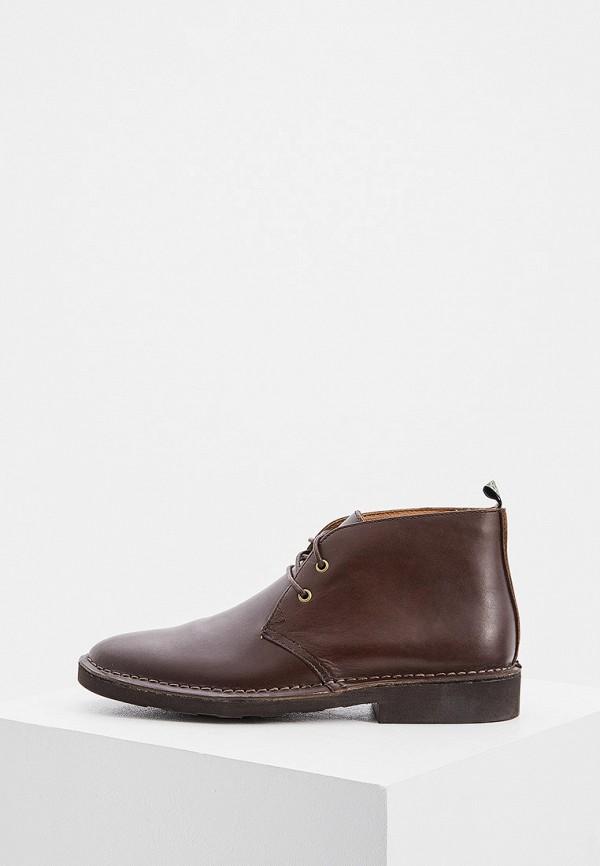 Фото - мужские ботинки и полуботинки Polo Ralph Lauren коричневого цвета