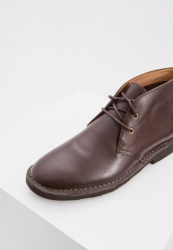 Фото 2 - мужские ботинки и полуботинки Polo Ralph Lauren коричневого цвета