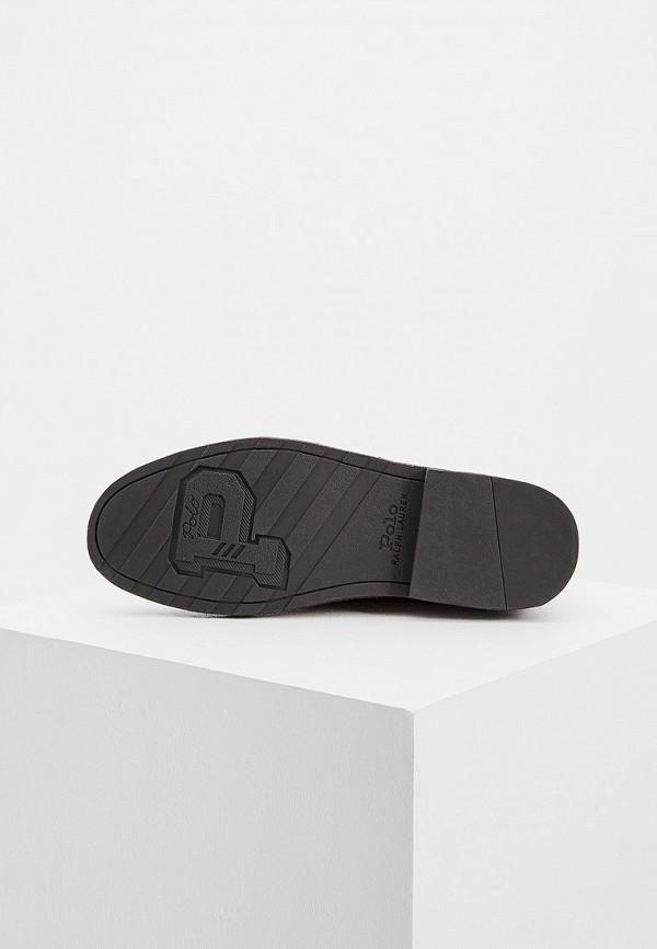 Фото 3 - мужские ботинки и полуботинки Polo Ralph Lauren коричневого цвета