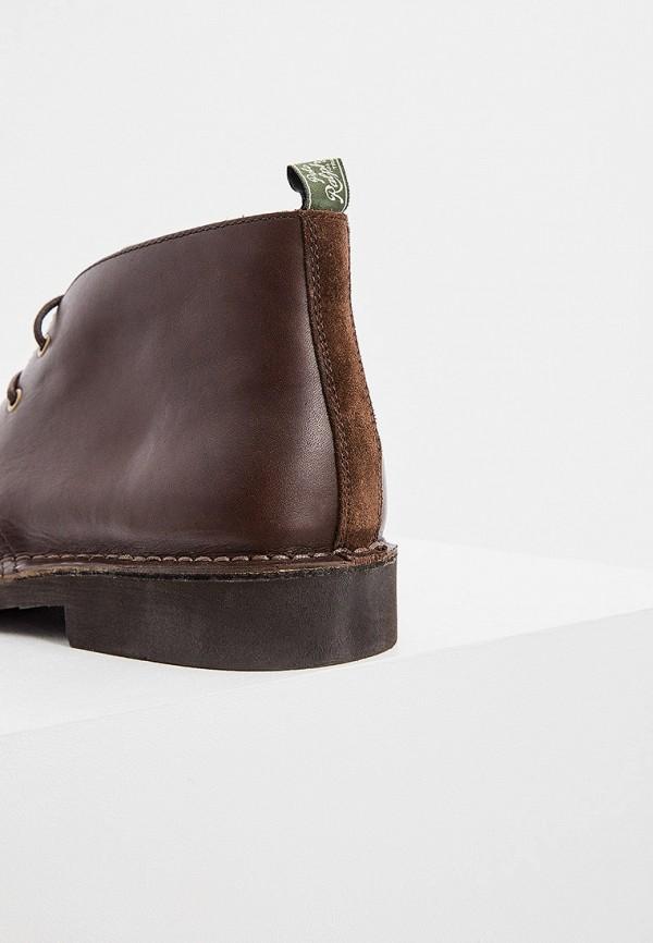 Фото 4 - мужские ботинки и полуботинки Polo Ralph Lauren коричневого цвета