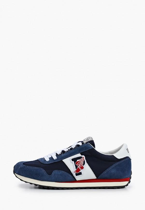 мужские низкие кроссовки polo ralph lauren, синие