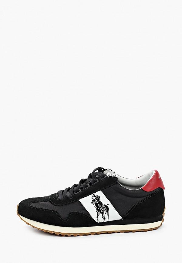 мужские низкие кроссовки polo ralph lauren, черные