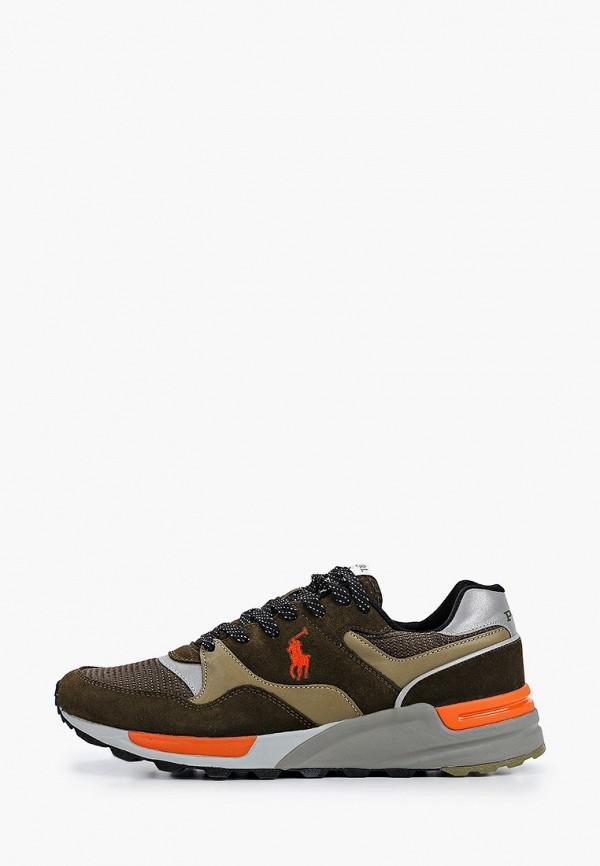 мужские низкие кроссовки polo ralph lauren, хаки