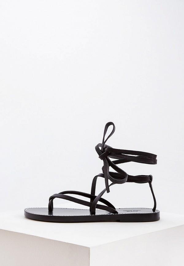 женские сандалии polo ralph lauren, черные