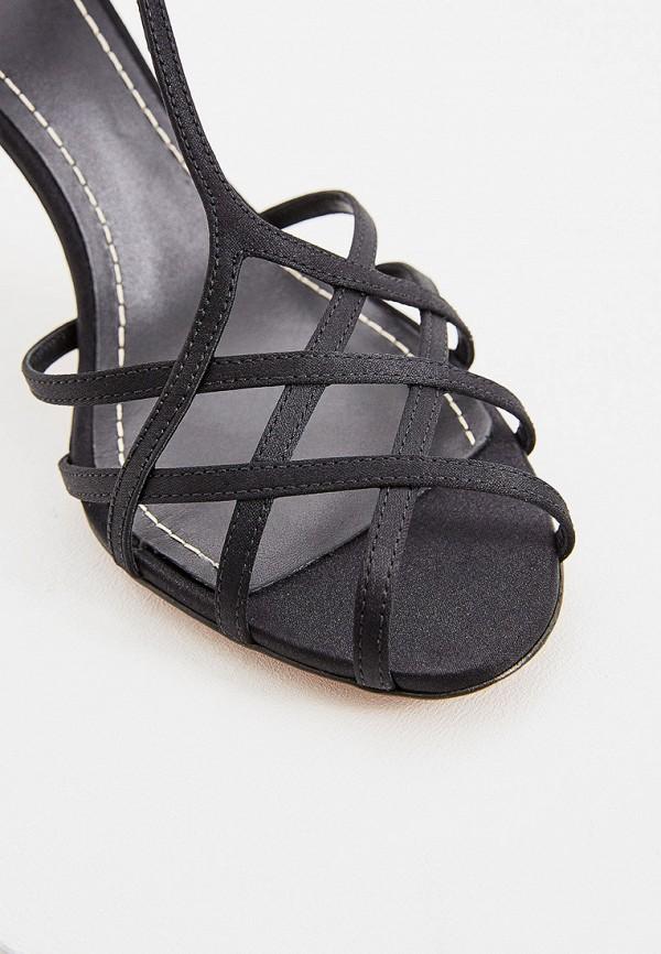 Фото 4 - женские босоножки Polo Ralph Lauren черного цвета