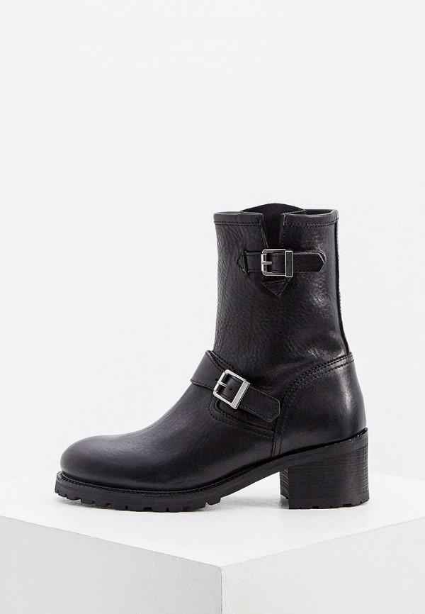 женские ботинки polo ralph lauren, черные