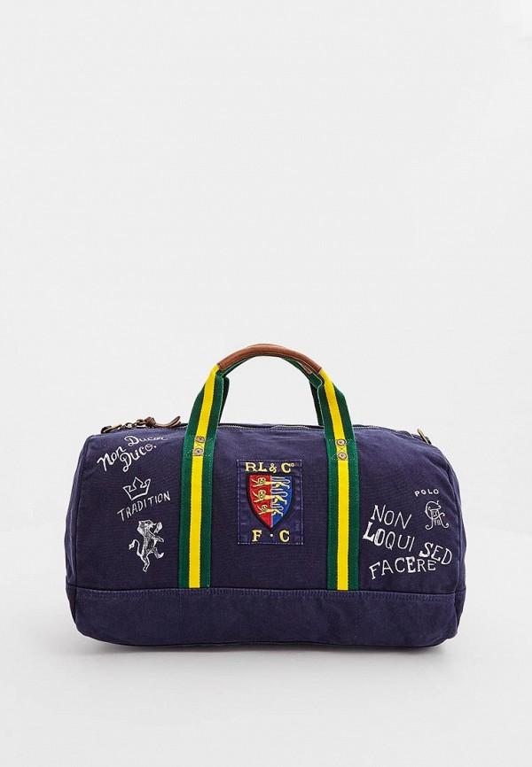 Купить Сумка спортивная Polo Ralph Lauren, po006bmbwyy9, синий, Осень-зима 2018/2019