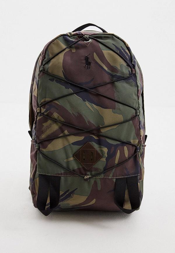 мужской рюкзак polo ralph lauren, хаки