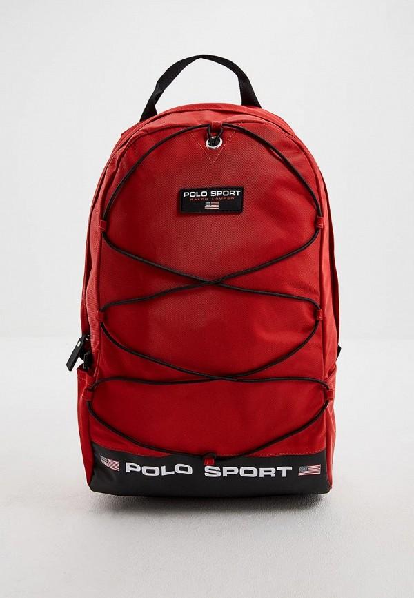 мужской рюкзак polo ralph lauren, красный
