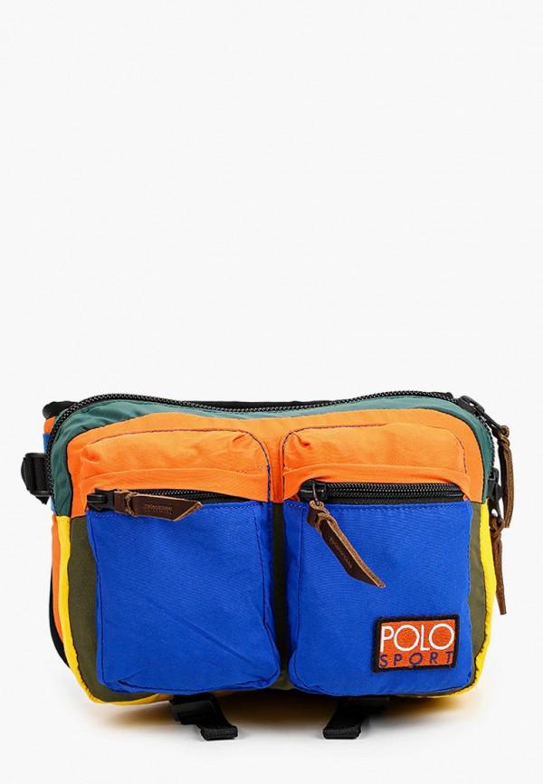 мужская поясные сумка polo ralph lauren, разноцветная