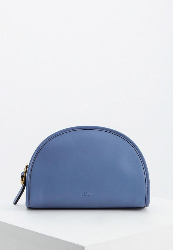 женская сумка polo ralph lauren, голубая