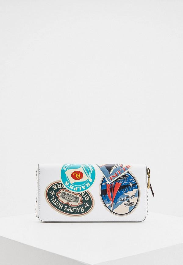 женский кошелёк polo ralph lauren, разноцветный