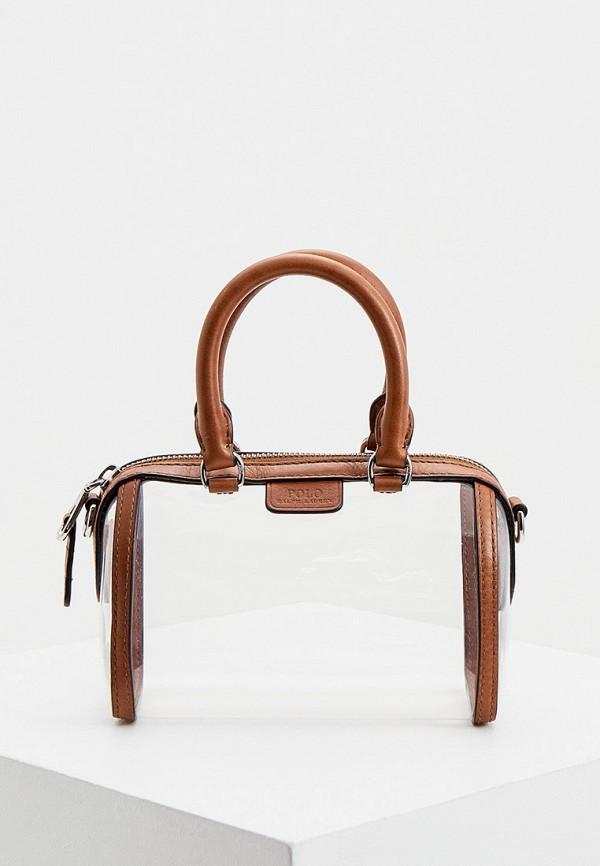 женская сумка через плечо polo ralph lauren