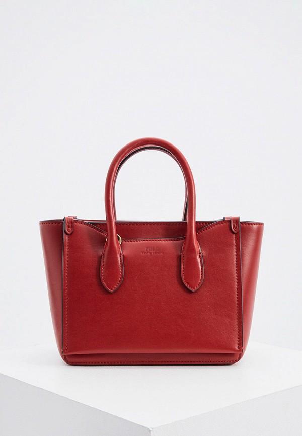 женская сумка polo ralph lauren, бордовая