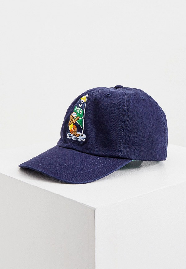 Бейсболка Polo Ralph Lauren Polo Ralph Lauren 323811065001 синий фото