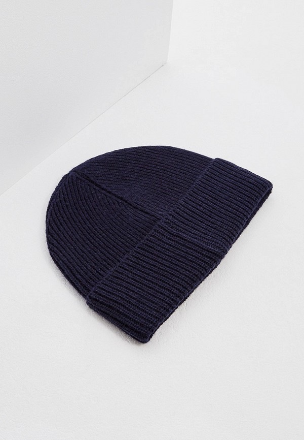 Фото 2 - мужскую шапку Polo Ralph Lauren синего цвета