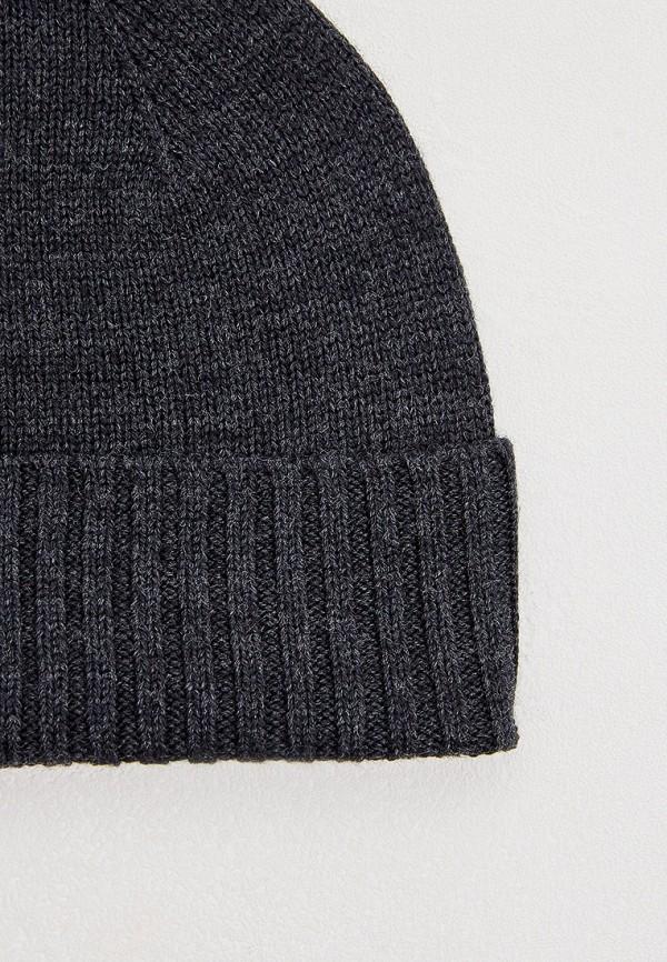Фото 3 - мужскую шапку Polo Ralph Lauren серого цвета