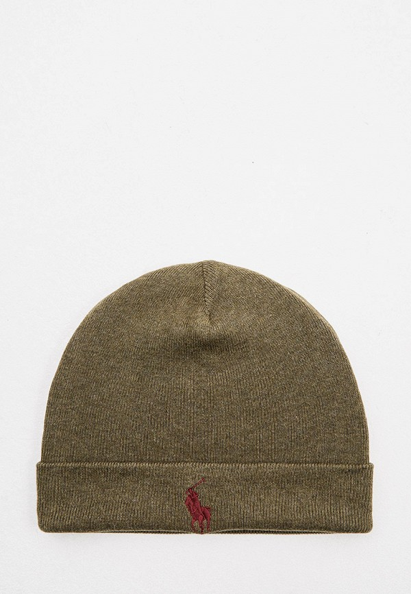 мужская шапка polo ralph lauren, хаки