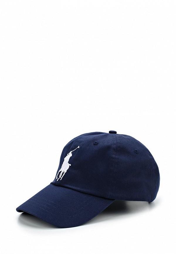 мужская бейсболка polo ralph lauren, синяя