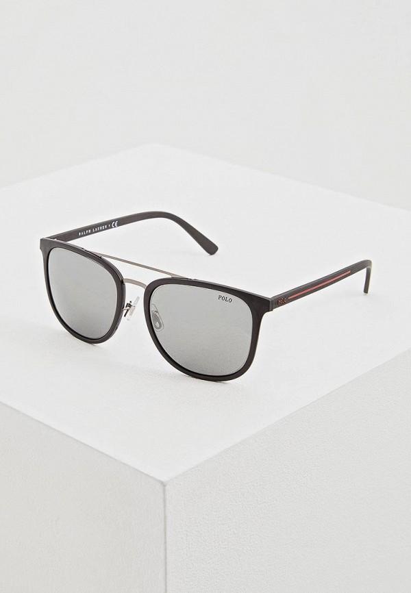 Купить Очки солнцезащитные Polo Ralph Lauren, PH4144 52846G, po006dmdbkh0, черный, Весна-лето 2019