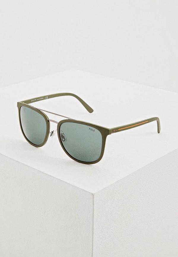 мужские солнцезащитные очки polo ralph lauren, зеленые