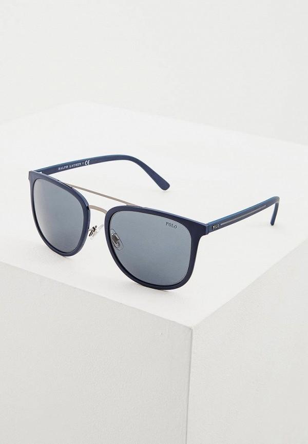мужские солнцезащитные очки polo ralph lauren, синие