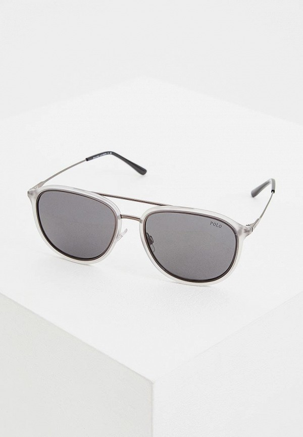 мужские солнцезащитные очки polo ralph lauren, серые