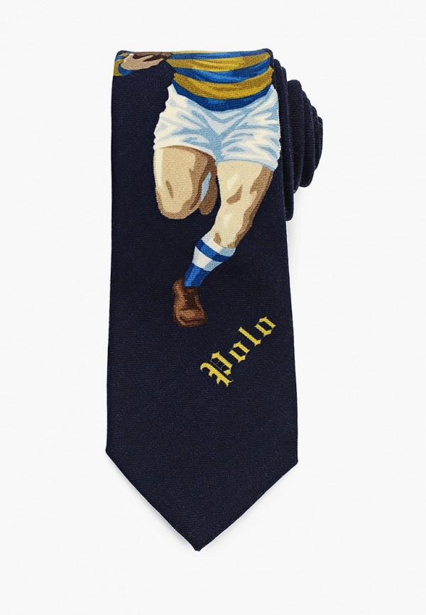 мужские галстуки и бабочки polo ralph lauren, синие