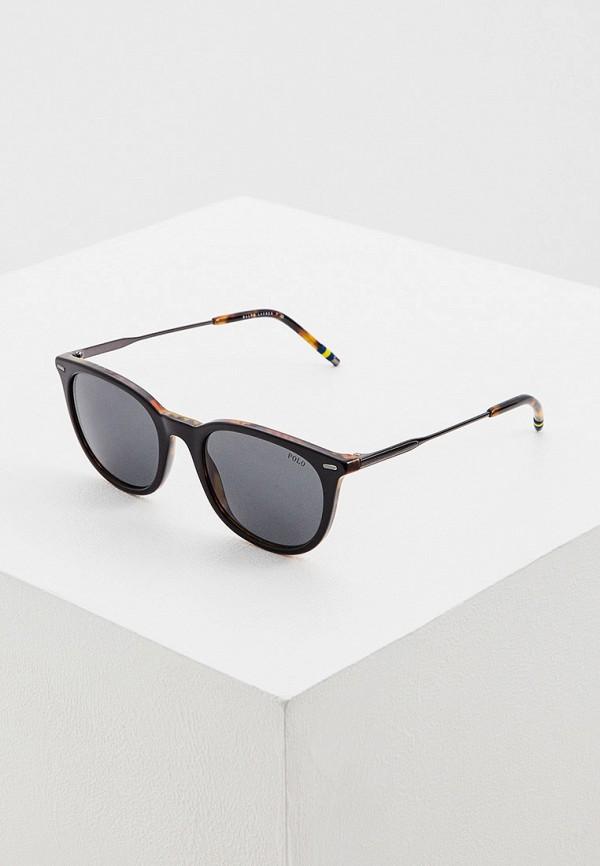 мужские солнцезащитные очки polo ralph lauren, черные