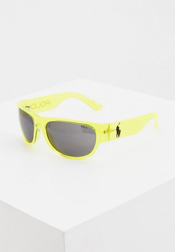 мужские солнцезащитные очки polo ralph lauren, желтые