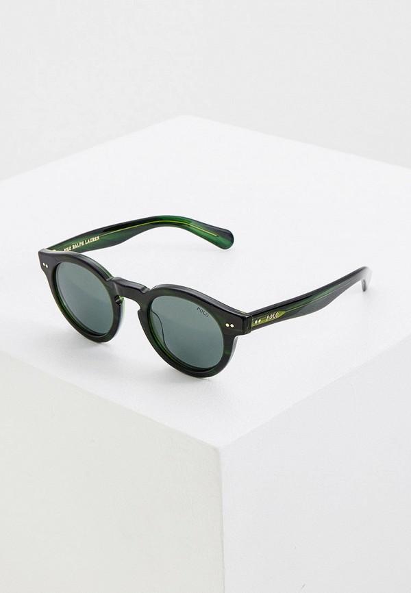 женские солнцезащитные очки polo ralph lauren, зеленые