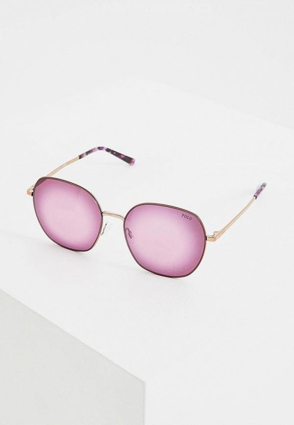 женские солнцезащитные очки polo ralph lauren, фиолетовые