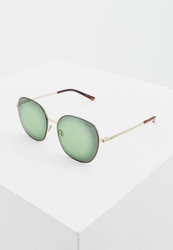 женские солнцезащитные очки polo ralph lauren, золотые