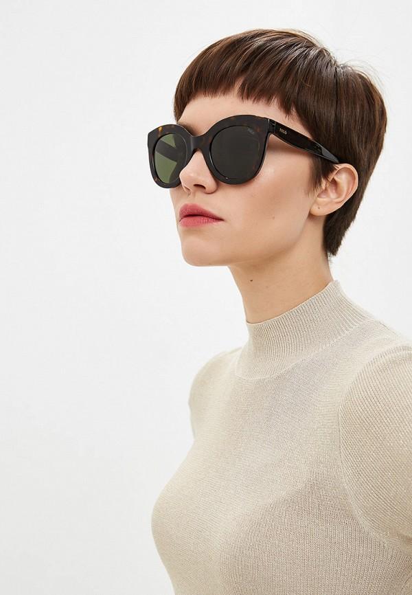 Фото 6 - Очки солнцезащитные Polo Ralph Lauren коричневого цвета