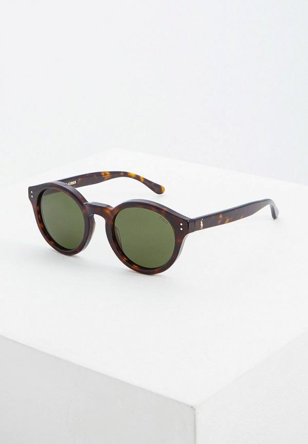 Фото - Очки солнцезащитные Polo Ralph Lauren коричневого цвета