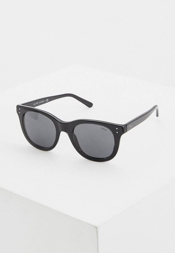 женские солнцезащитные очки polo ralph lauren, черные
