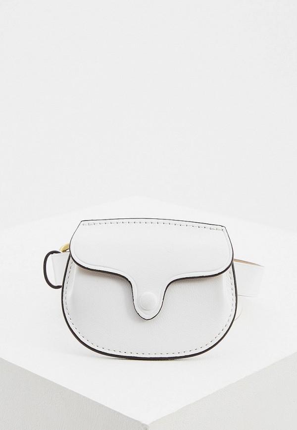женская поясные сумка polo ralph lauren, белая