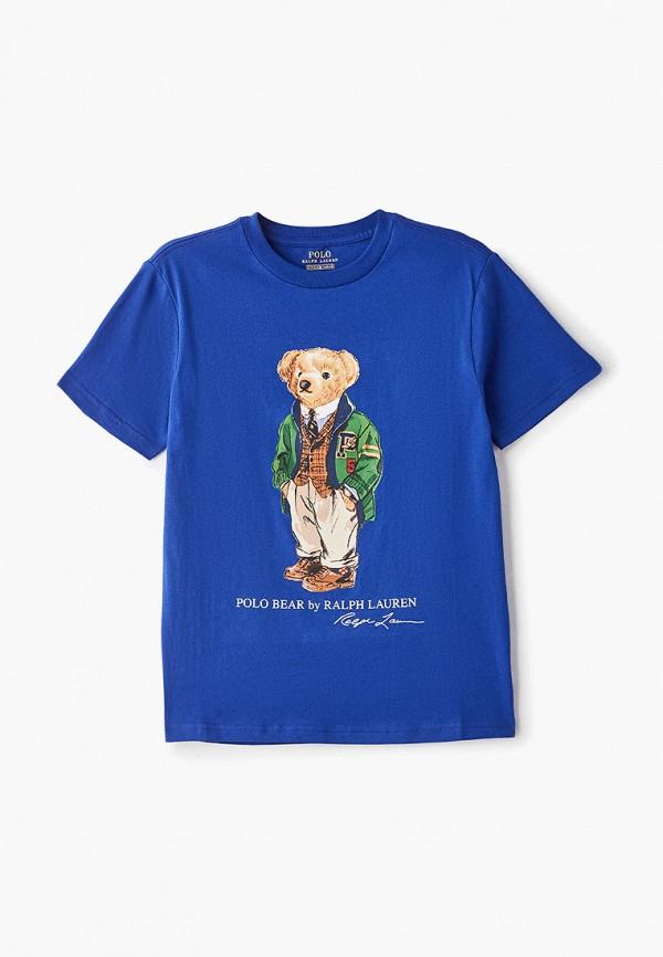 Футболка Polo Ralph Lauren Polo Ralph Lauren PO006EBDMCA4 футболка polo ralph lauren polo ralph lauren po006emdmco6