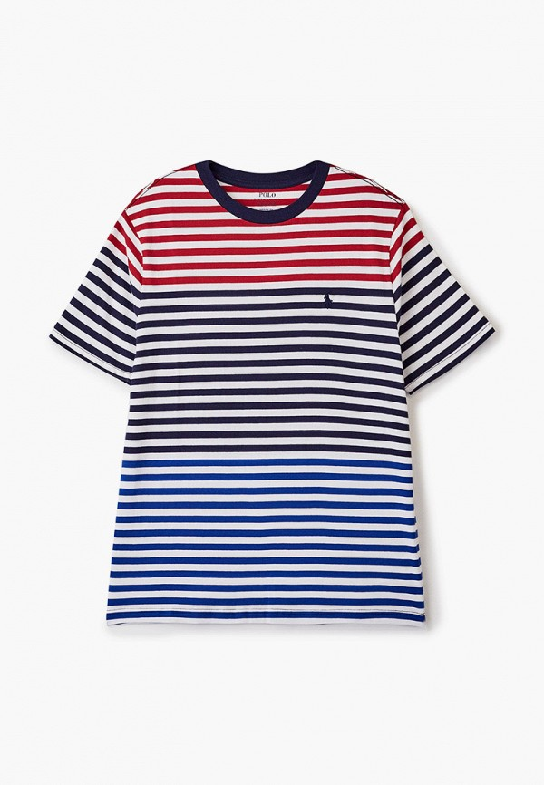 футболка с коротким рукавом polo ralph lauren для мальчика, разноцветная