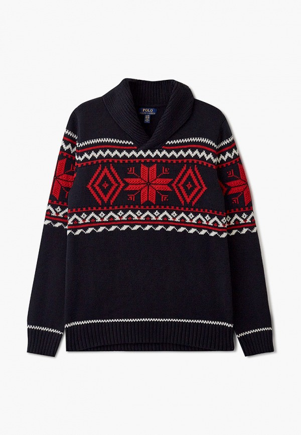 пуловер polo ralph lauren для мальчика, черный